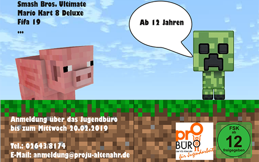 GAMING EVENT ab 12 Jahre!