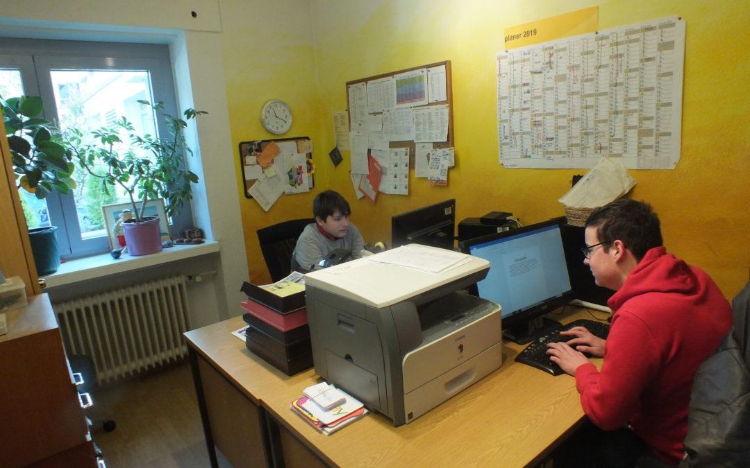 Ein Praktikum im Jugendbüro