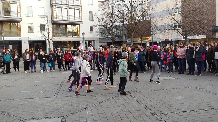 Hiphop Dance bei One Billion Rising