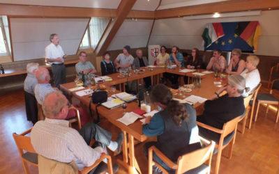 Mitgliederversammlung des Partnerschaftsverein Mártély-Altenahr