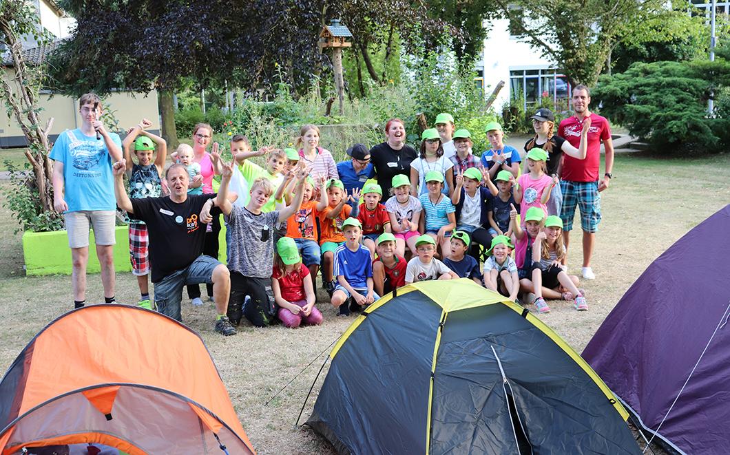 Zeltlager am Jugendbüro war ein voller Erfolg!