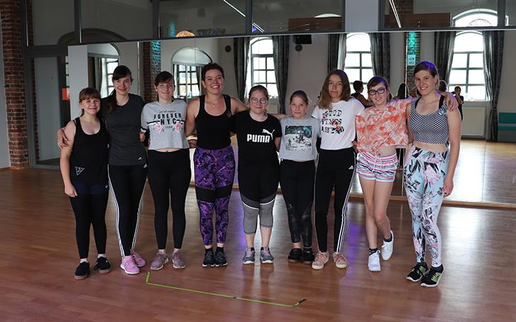 Step Up Dance Club im Trainingslager