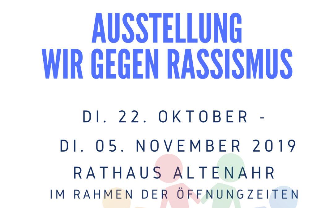 Ausstellung – Wir gegen Rassismus