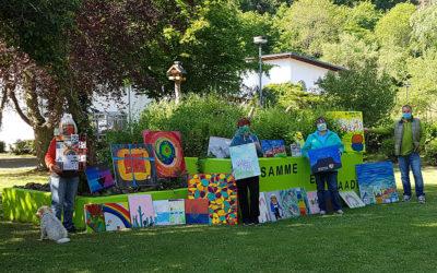 Jugend malt für Senioren