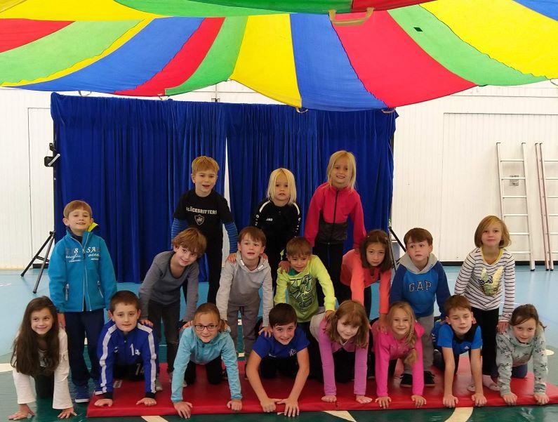 Zirkuswoche des Jugendbüros wieder ein tolles Erlebnis