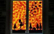 Leuchtende Adventfenster