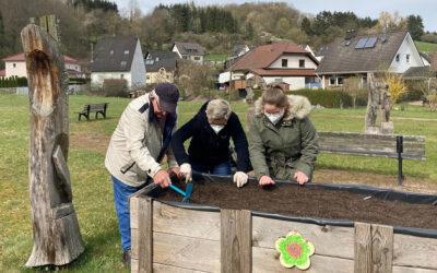 Zesamme em Hochbeet – Vorbereitung auf generationsübergreifende Projekte
